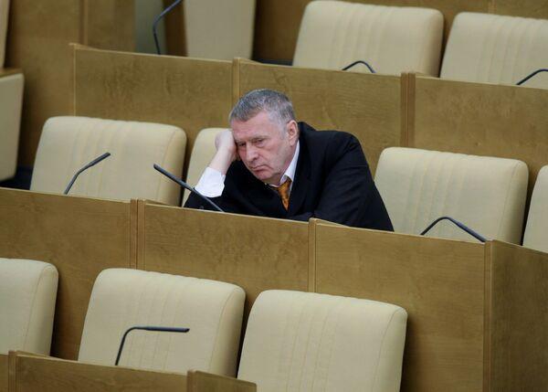 Глава ЛДПР Владимир Жириновский