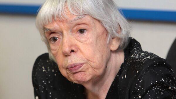 Председатель Московской Хельсинкской группы Людмила Алексеева. Архив