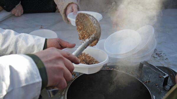 Военно-полевая кухня, архивное фото