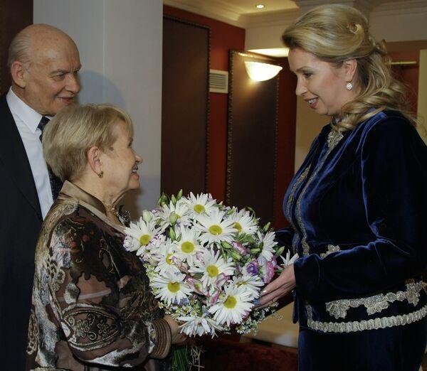 Светлана Медведева посетила концерт в честь Александры Пахмутовой
