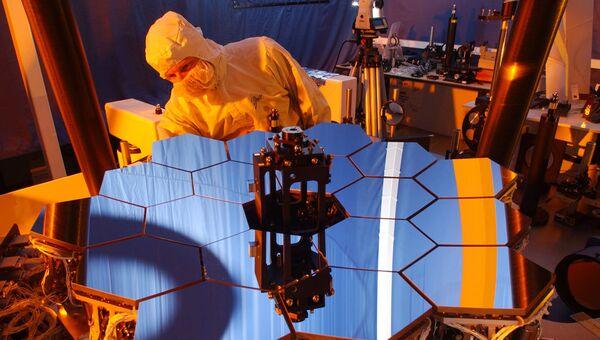 Супертелескоп James Webb Space Telescope. Архивное фото