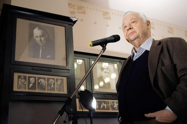 Художественный руководитель МХТ имени А.П.Чехова Олег Табаков