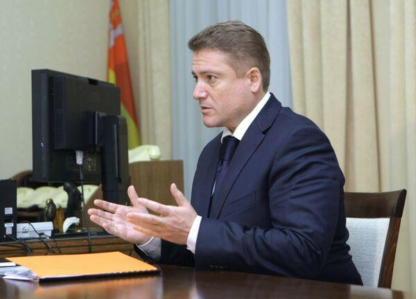 Губернатор Калининградской области Г.Боос. Архив
