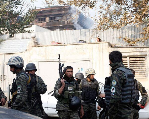 Талибы напали на гостиницу ООН в Кабуле