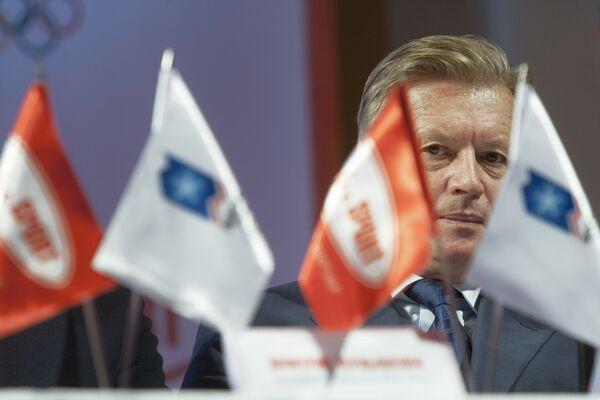 Президент Олимпийского комитета России Леонид Тягачев