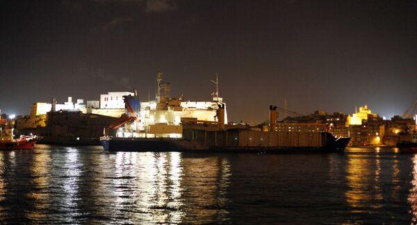 Сухогруз Arctic Sea прибыл в территориальные воды Мальты