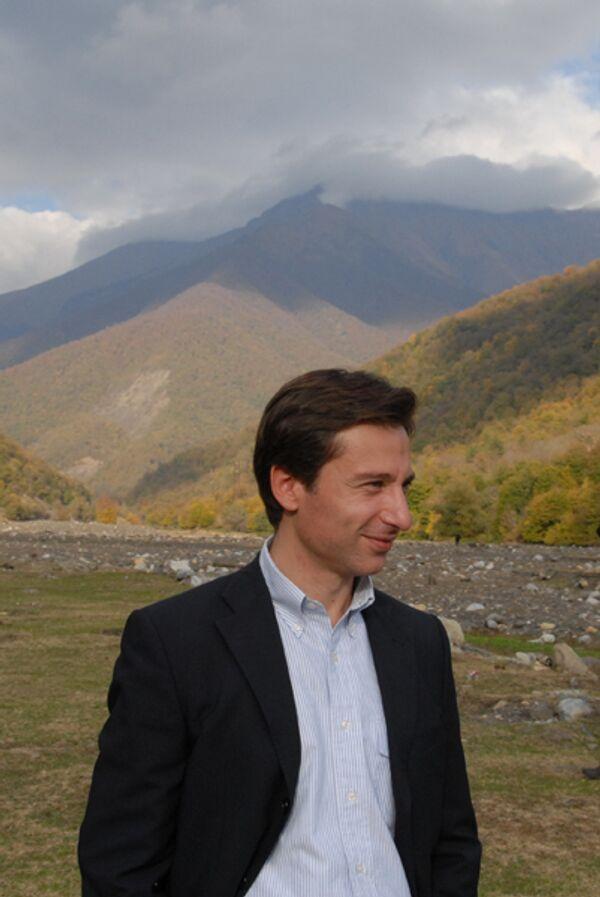 Лидер оппозиционной фракции «Христиан-демократы» в Грузии Георгий Таргамадзе. Архив