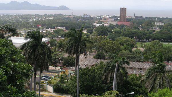 Столица Никарагуа Манагуа. Архив