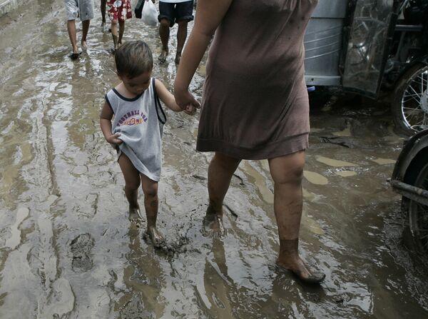 Тайфун Миринаэ на Филиппинах