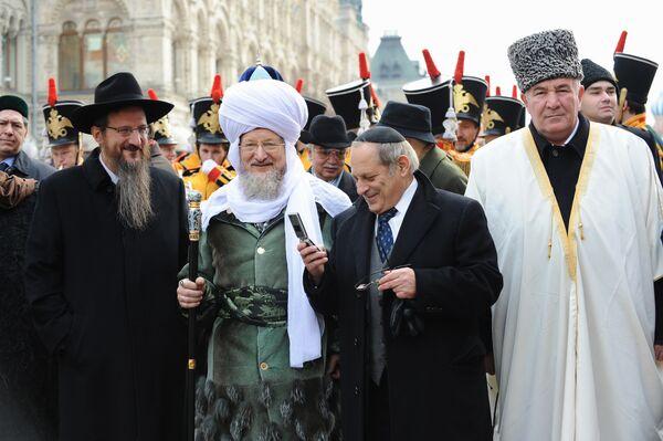 Шествие, посвященное Дню народного единства в Москве