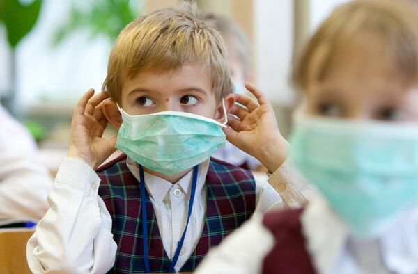 Профилактические меры против гриппа в школе Южно-Сахалинска