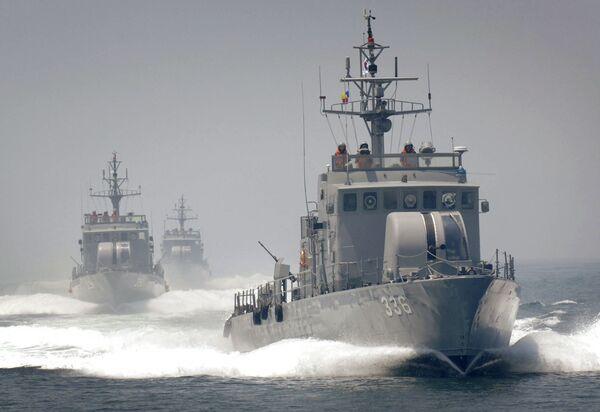 Патрульные суда Южнокорейского флота
