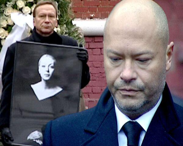 Друзья и коллеги простились с актрисой Аленой Бондарчук