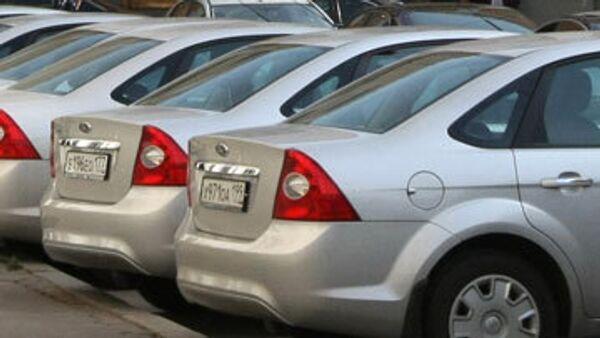 РФ в 2009г. снизила импорт легковых машин из дальнего зарубежья - ФТС