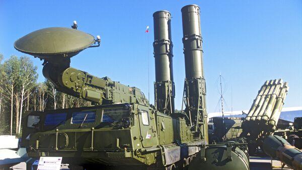 Зенитно-ракетная система С-300. Архивное фото