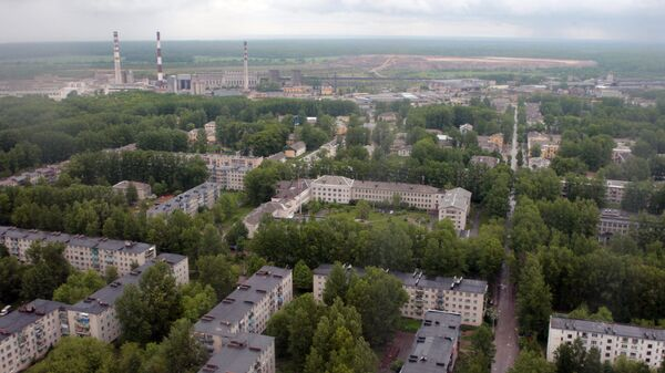 Город Пикалево Ленинградской области