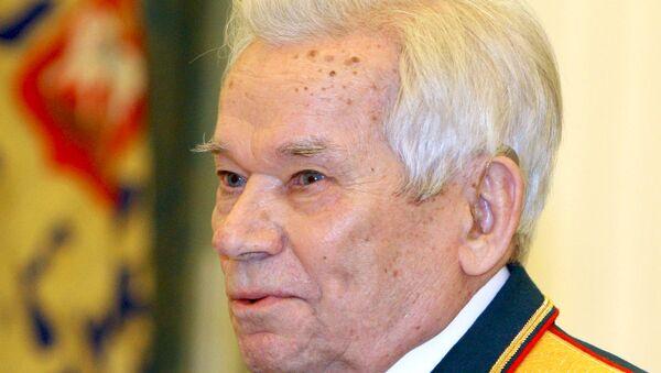 Конструктор оружия М.Калашников. Архив