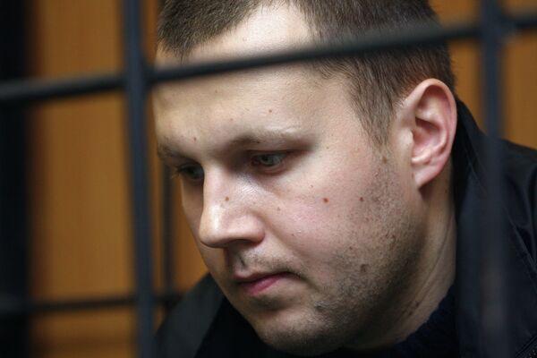 Рассмотрение ходатайства об аресте офицера ВС РФ Николая Захаркина. Архив