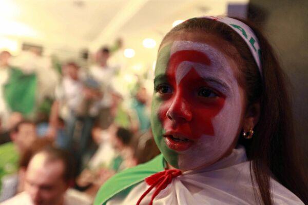 Болельщица сборной Алжира