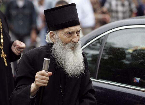 Патриарх Сербский Павел будет похоронен в четверг в монастыре Раковица