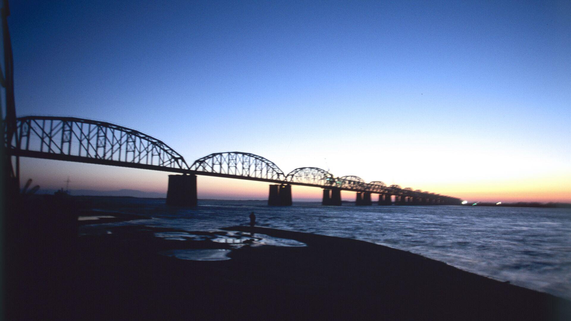 Мост через реку Амур - РИА Новости, 1920, 24.09.2021