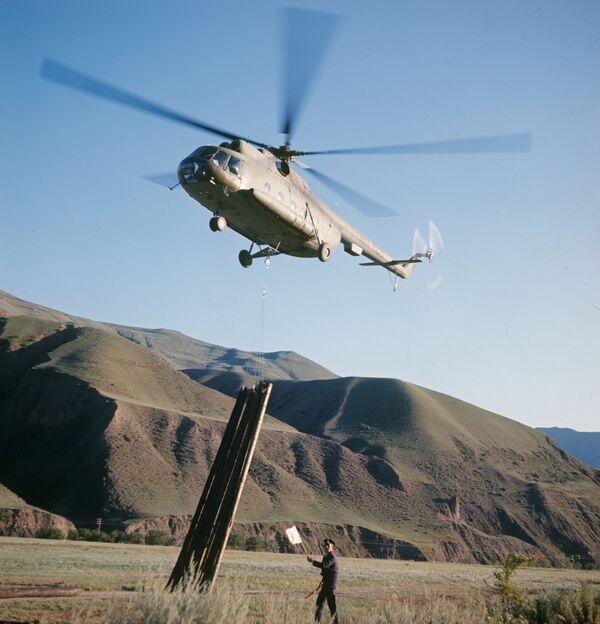 Вертолет МИ-8. Архив
