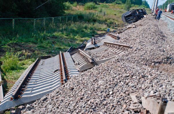 При подрыве железной дороги в Дагестане никто не пострадал - РЖД