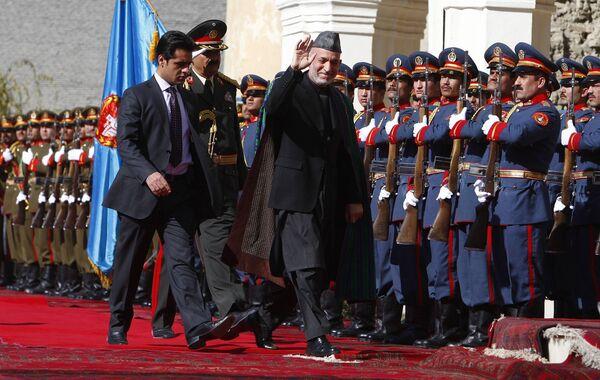Инаугурация Хамида Карзая