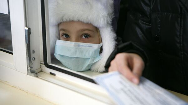Регистратура в детском отделении поликлиники. Архив