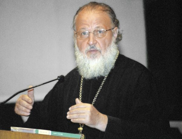 Архивные фотографии новоизбранного Патриарха Кирилла