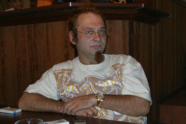 Радиоведущий и шоумен Роман Трахтенберг