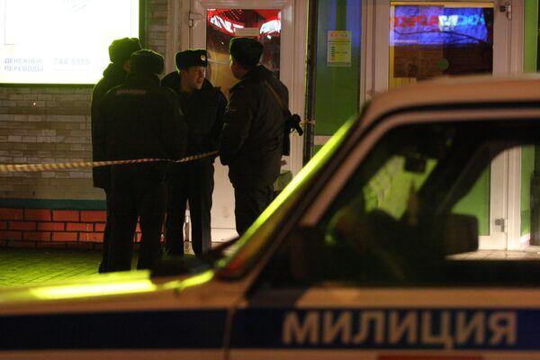 Установлены номера автомобиля преступников, расстрелявших милиционеров