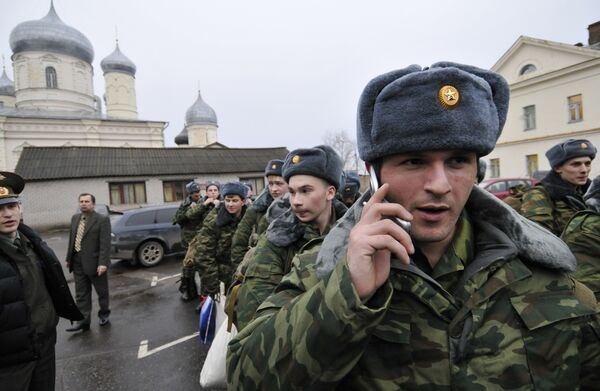 Призыв на военную службу. Архив