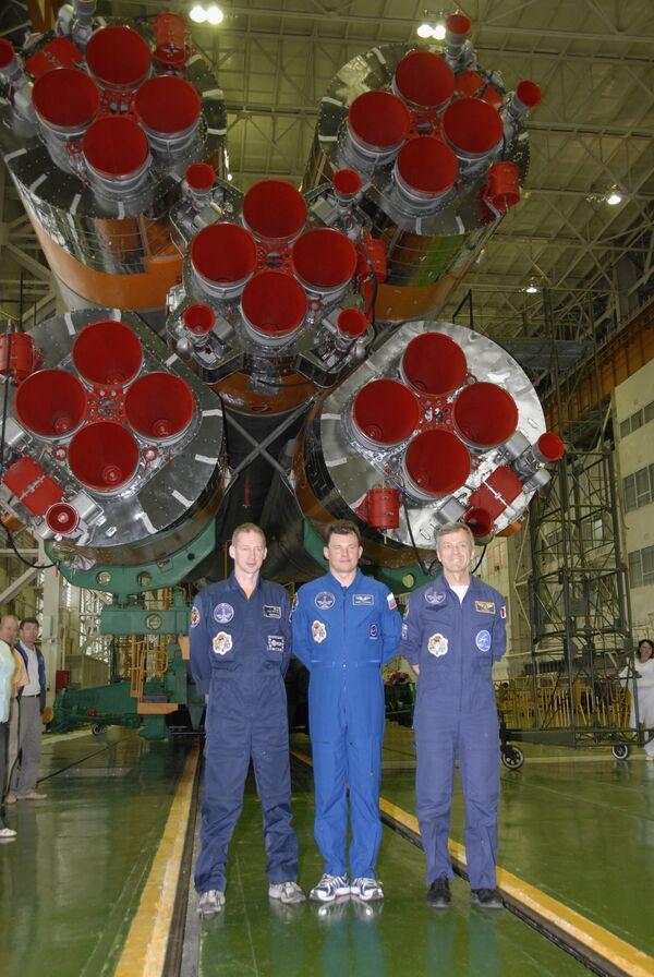 Основной экипаж Союз ТМА-15