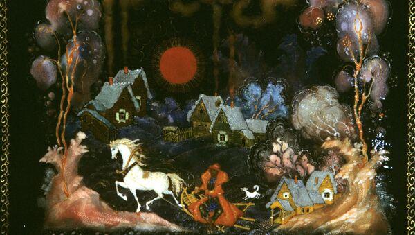 Шкатулка Зима. Автор И. Ливанова. Архивное фото