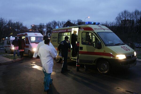 Самолет МЧС РФ с 16 пострадавшими из Перми сел в Пулково