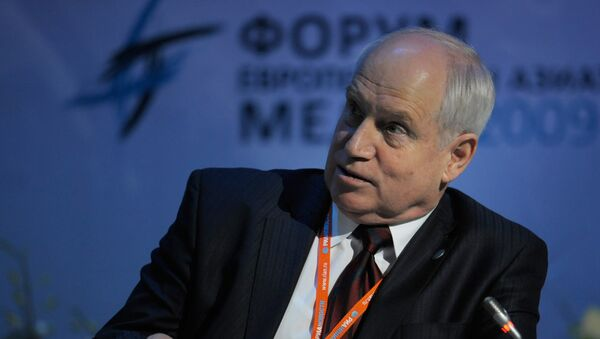 Секретарь Исполкома СНГ Сергей Лебедев. Архив