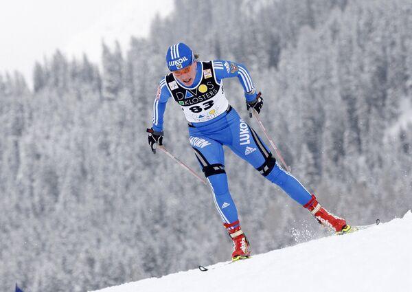 Российская лыжница Ирина Хазова