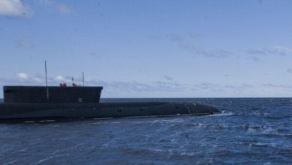 Атомный подводный ракетный крейсер Юрий Долгорукий