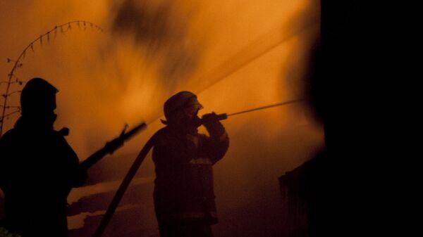 Пожар в доме священника в подмосковной Барвихе