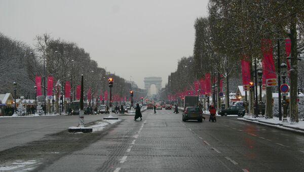 Париж. Архивное фото