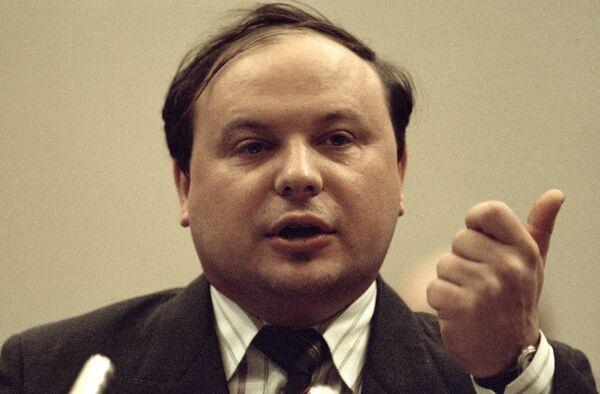 Вице-премьер правительства РФ Егор Гайдар