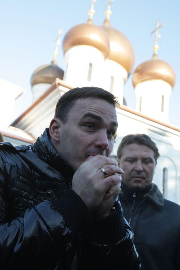 Участник группы Иванушки International Кирилл Андреев. Архив