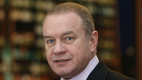 Президент-генеральный конструктор РКК Энергия Виталий Лопота. Архивное фото