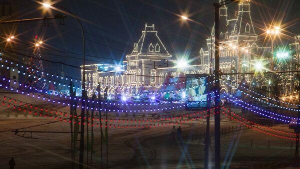 Вид с Большого Москворецкого моста на Кремль