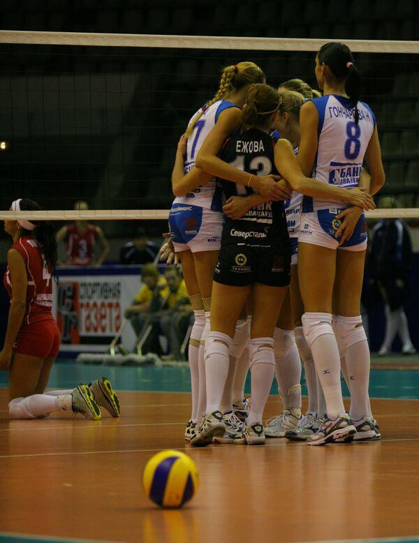 Волейболистки Динамо не смогли обыграть Фенербахче в ЛЧ