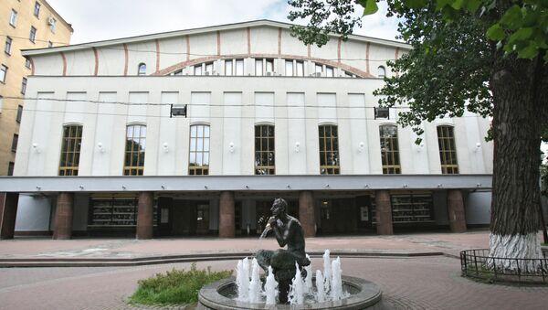 Государственный академический театр имени Моссовета. Архивное фото