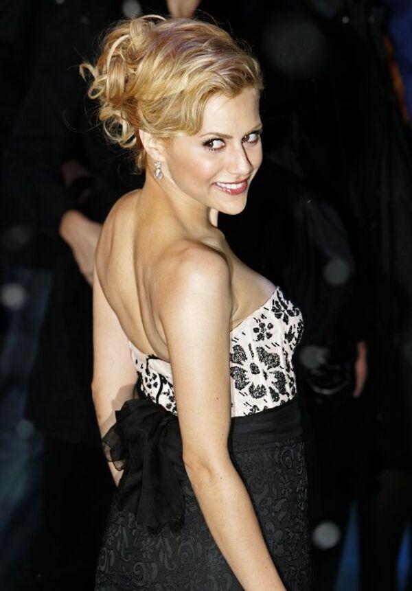 Актриса Бриттани Мерфи в Лондоне