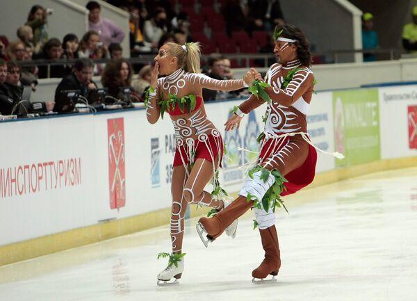 Оксана Домнина и Максим Шабалин