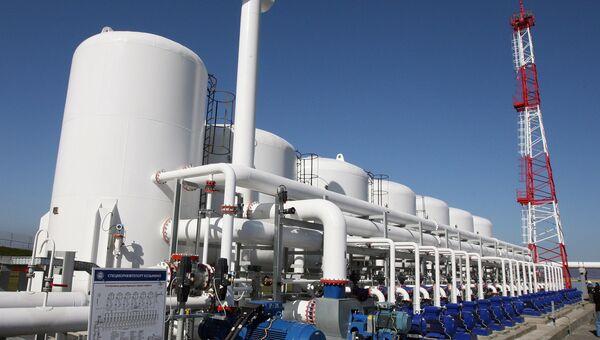 Специализированный морской нефтеналивной порт Козьмино в Приморском крае — конечный пункт трубопроводной системы Восточная Сибирь – Тихий океан.